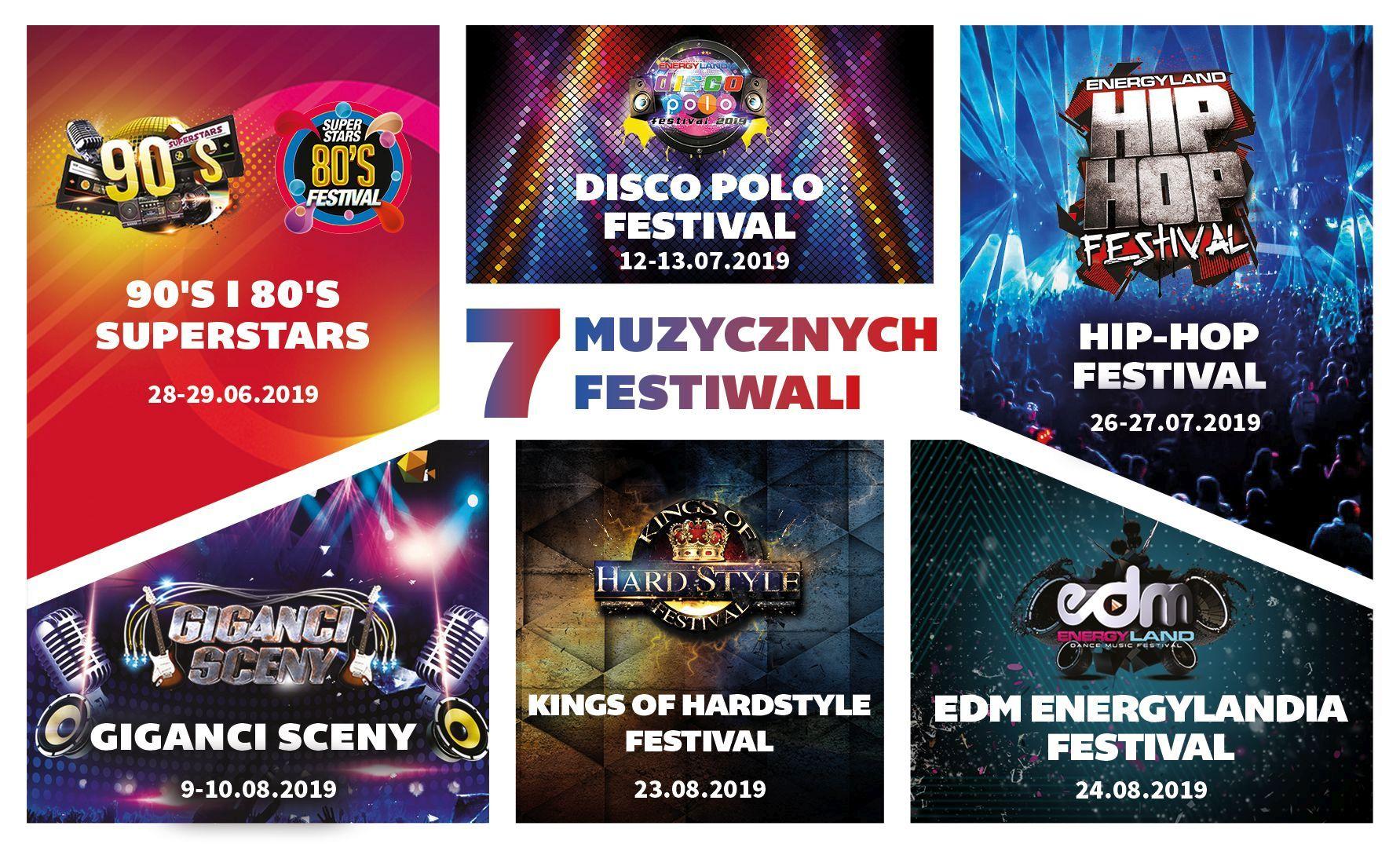 7 festiwali – 10 dni koncertów w Energylandii. Znamy szczegóły