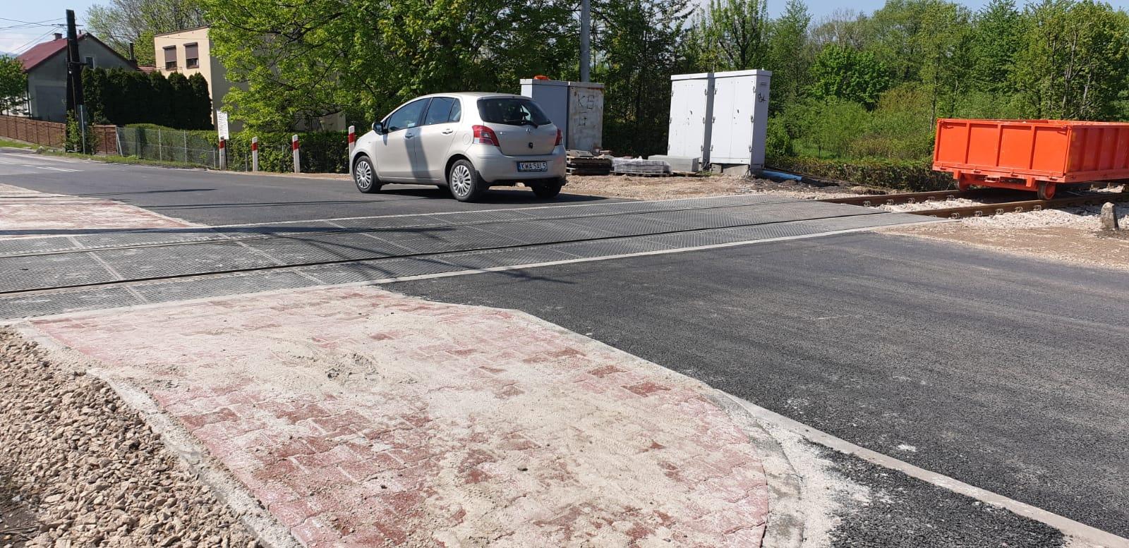 Ulica Beskidzka w Andrychowie ponownie przejezdna [FOTO]