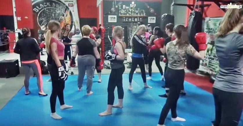 Andrychowianki uczą się samoobrony w klubie Black Dragon [VIDEO]