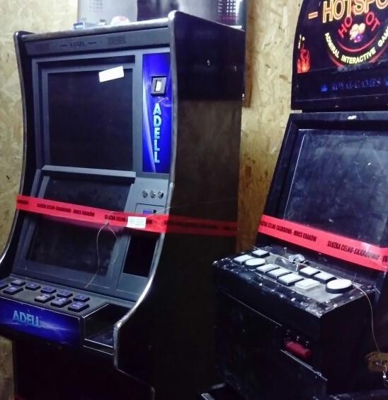 Zlikwidowano osiem nielegalnych automatów do gry