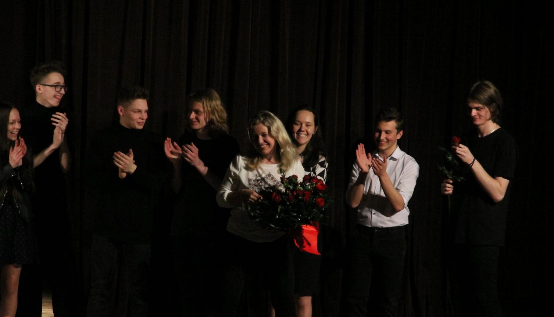 Licealiści z Andrychowa wystawili spektakl, owacjom nie było końca