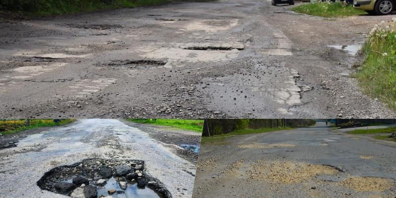 Ranking najgorszych dróg w gminie Andrychów [VIDEO]