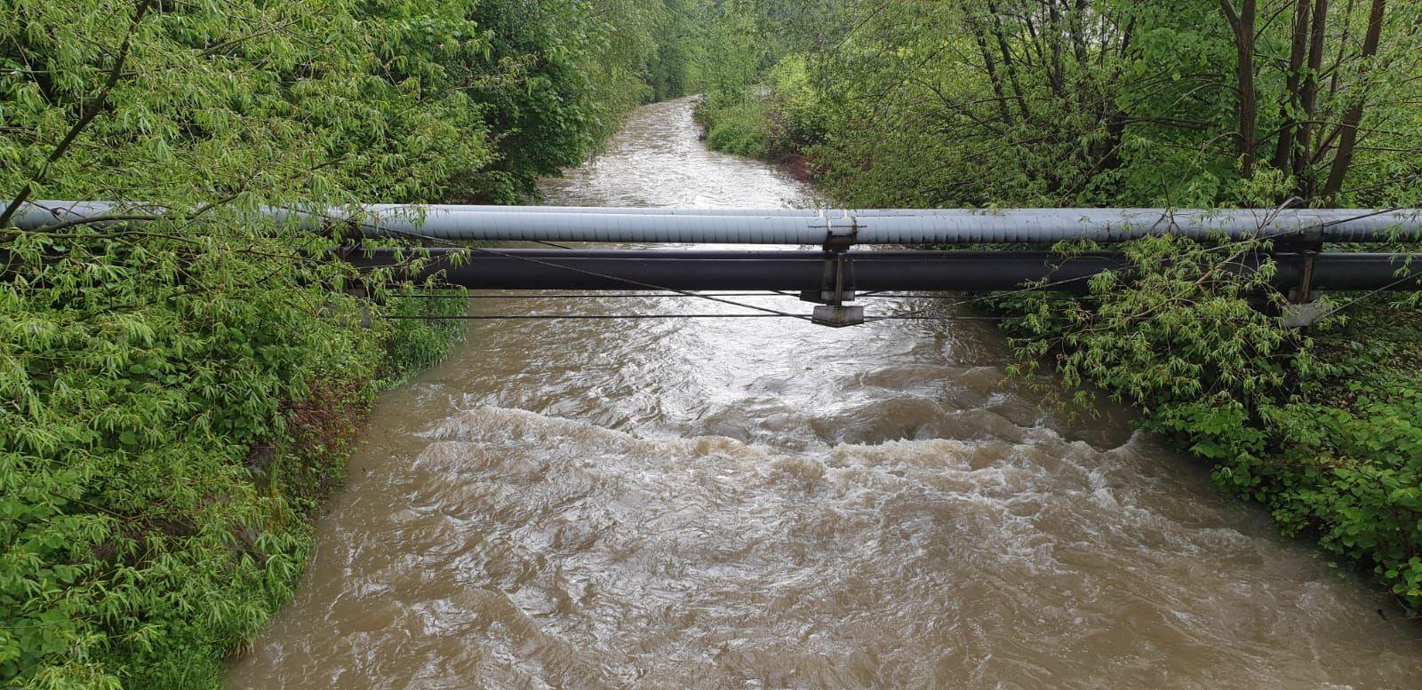 Kolejne ostrzeżenie pogodowe, podniesie się poziom rzek i potoków