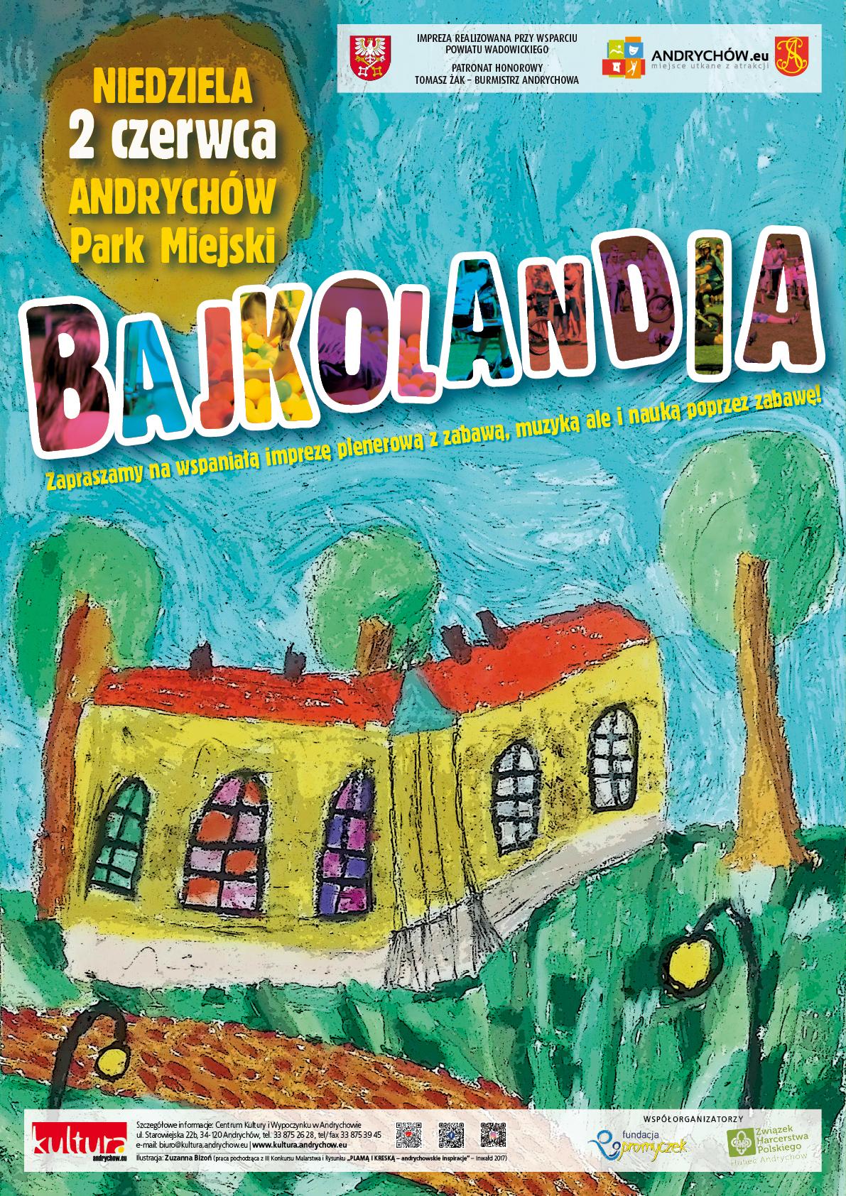 Bajkolandia 2019 w Andrychowie. Szczegóły wielkiej imprezy na Dzień Dziecka