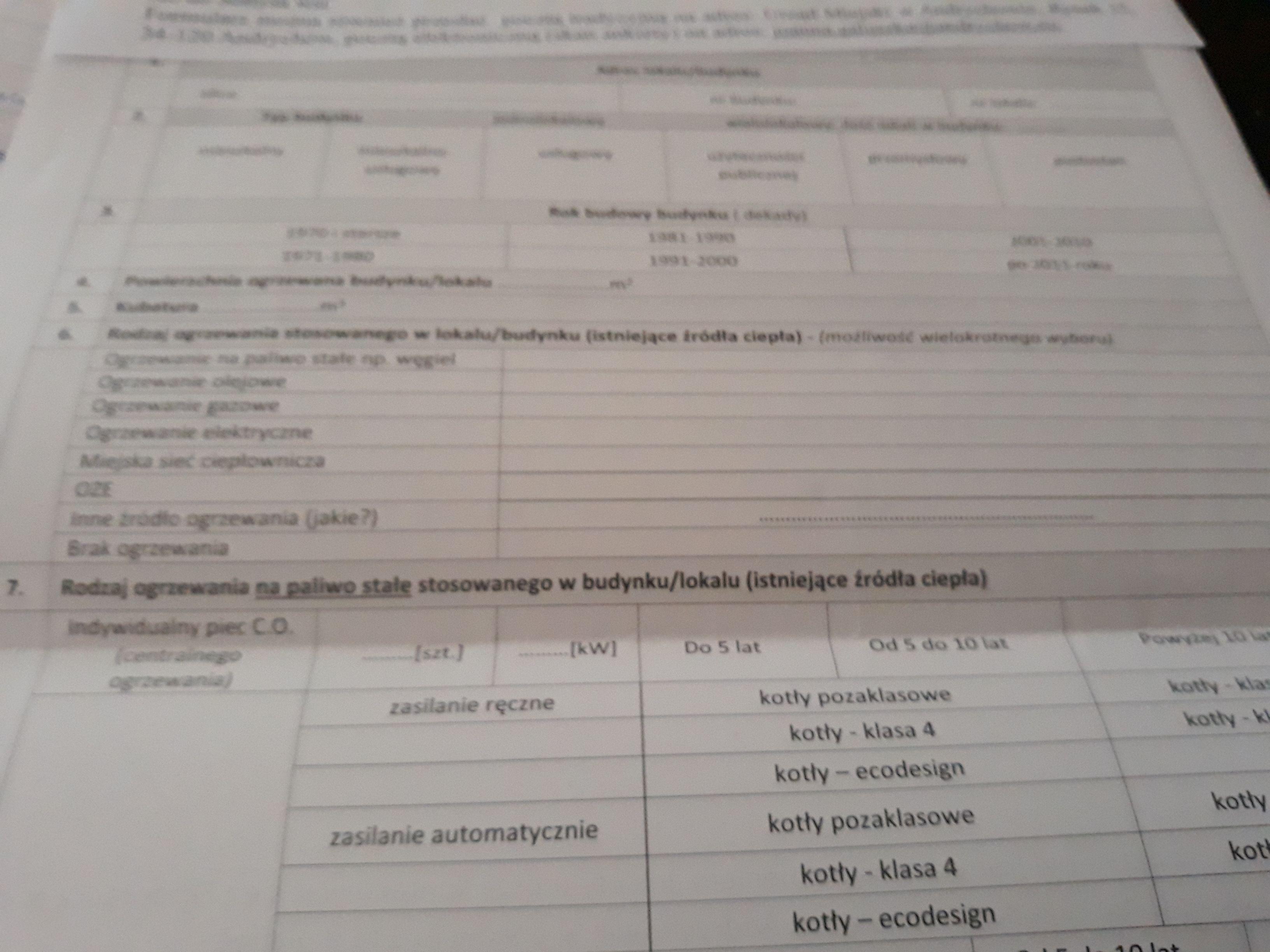 Urząd rozsyła ankiety do mieszkańców. O co chodzi?