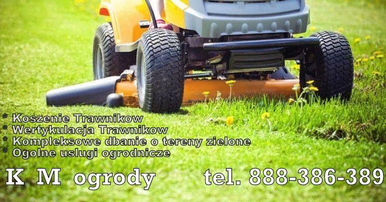 Koszenie trawy, usługi ogrodnicze. Zapisz ten numer