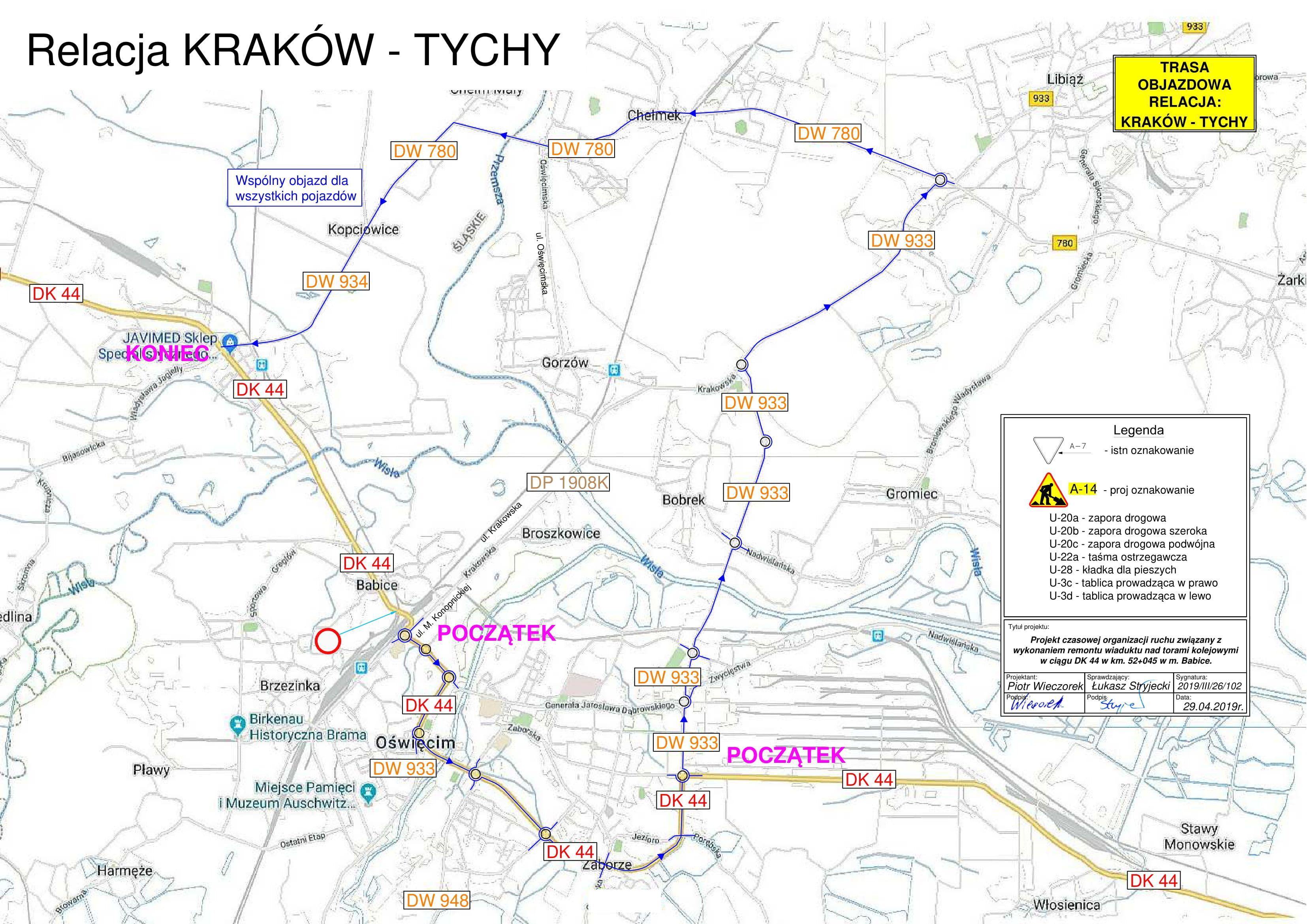Ważna informacja dla kierowców jadących na Śląsk