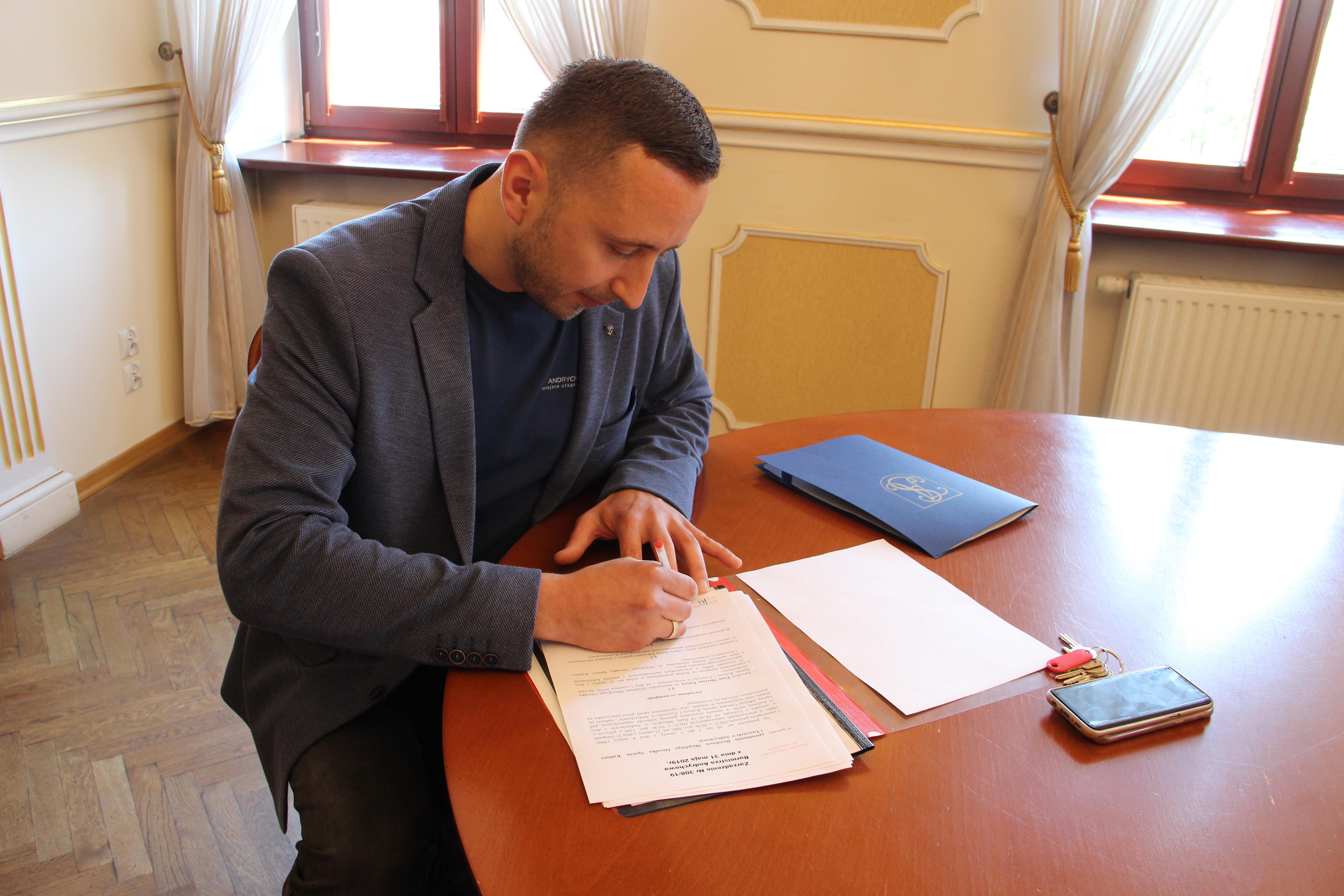 Marcin Putyra dyrektorem Miejskiego Ośrodka Sportu, Kultury i Turystyki
