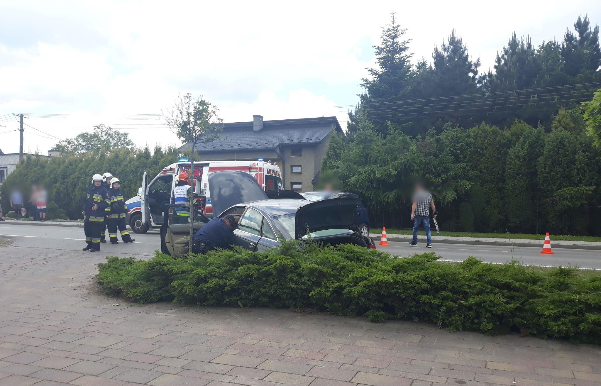 Groźny wypadek na Bielskiej [FOTO] [AKTUALIZACJA]