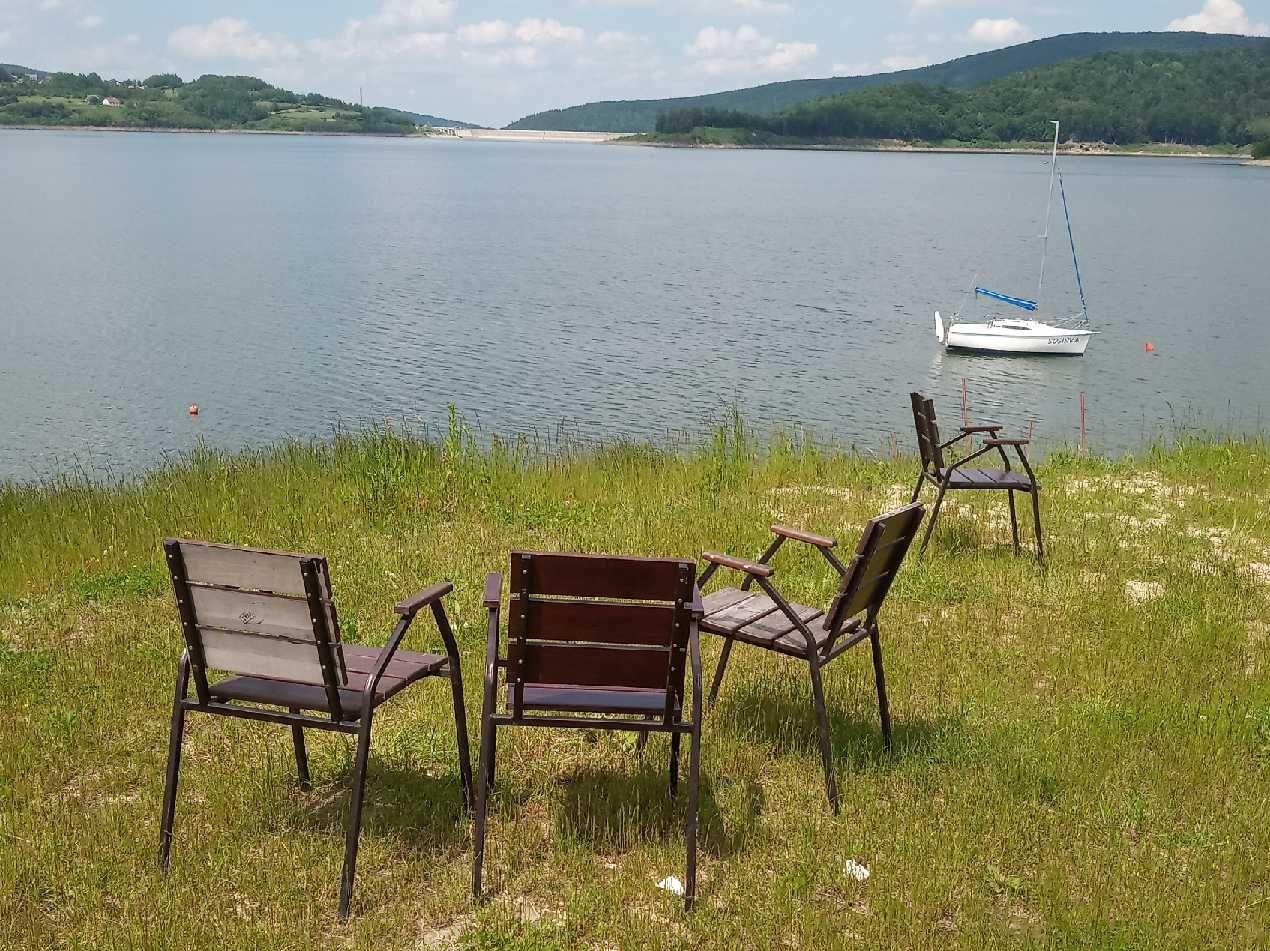 ZDJĘCIE DNIA. Sezon na Jeziorze Mucharskim rozpoczęty