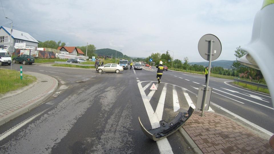 Wypadek na drodze krajowej nr 28