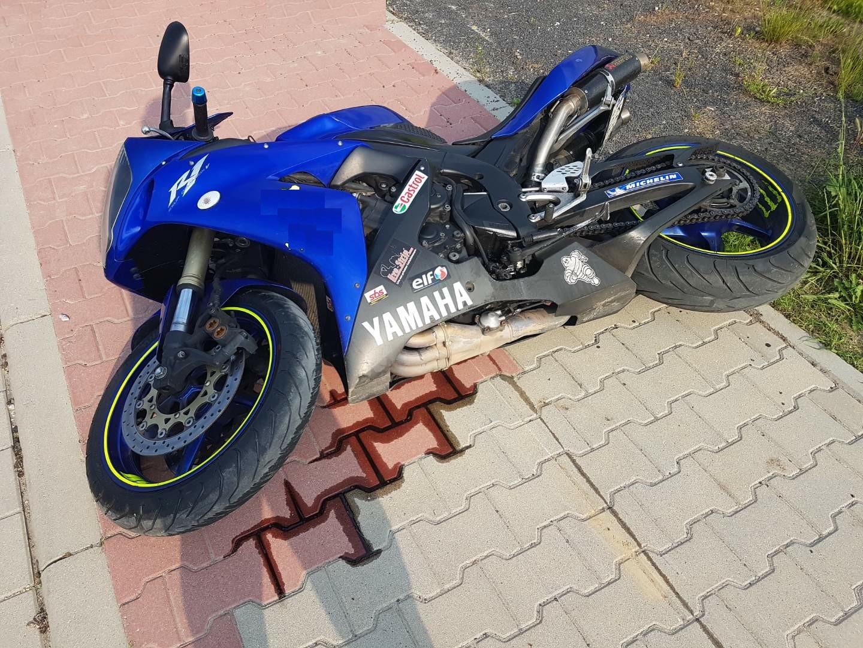Śmierć na motocyklu. Tragiczny wypadek drogowy