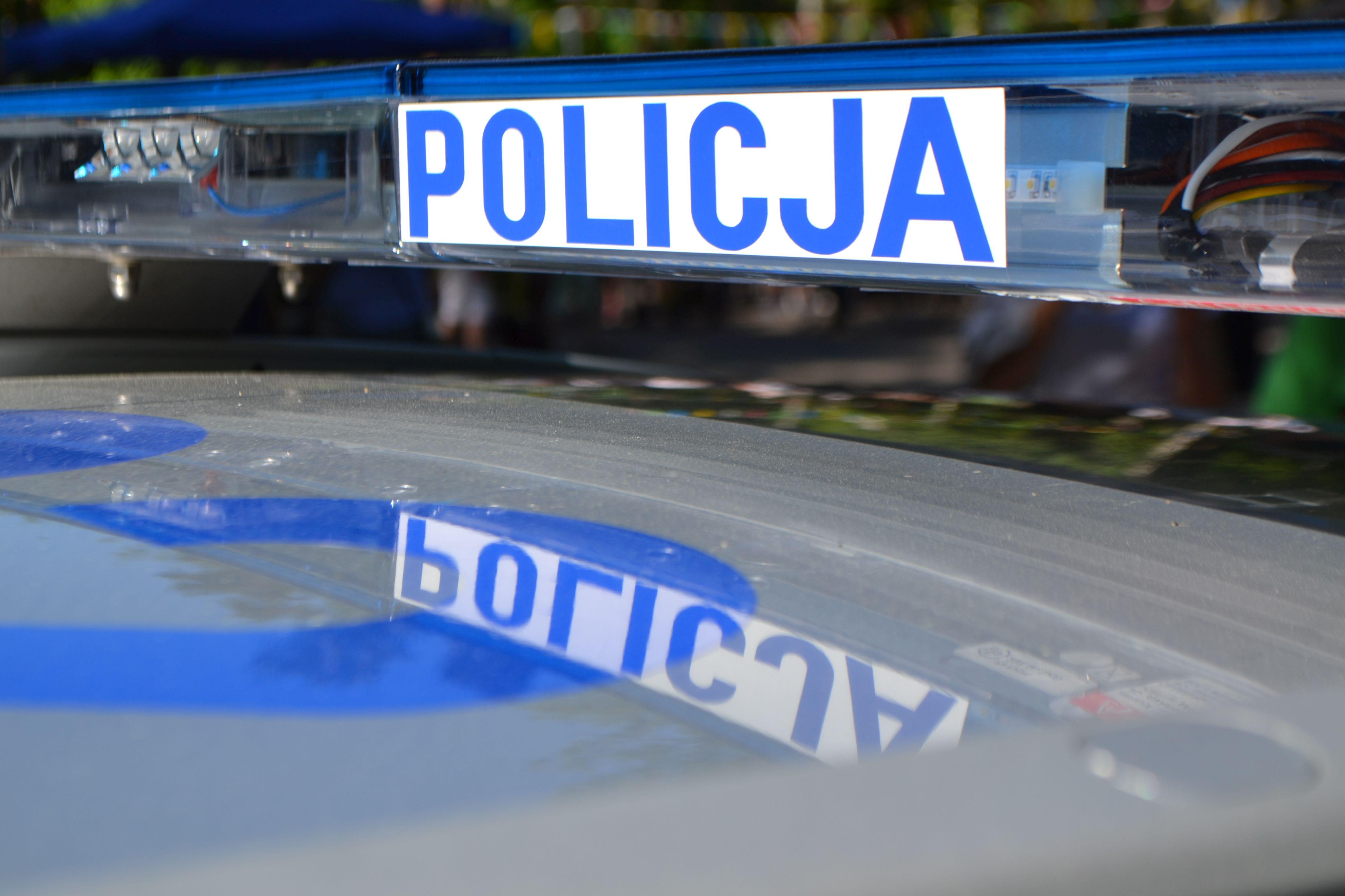 Kolizja drogowa z udziałem nietrzeźwego policjanta z kierownictwa komendy