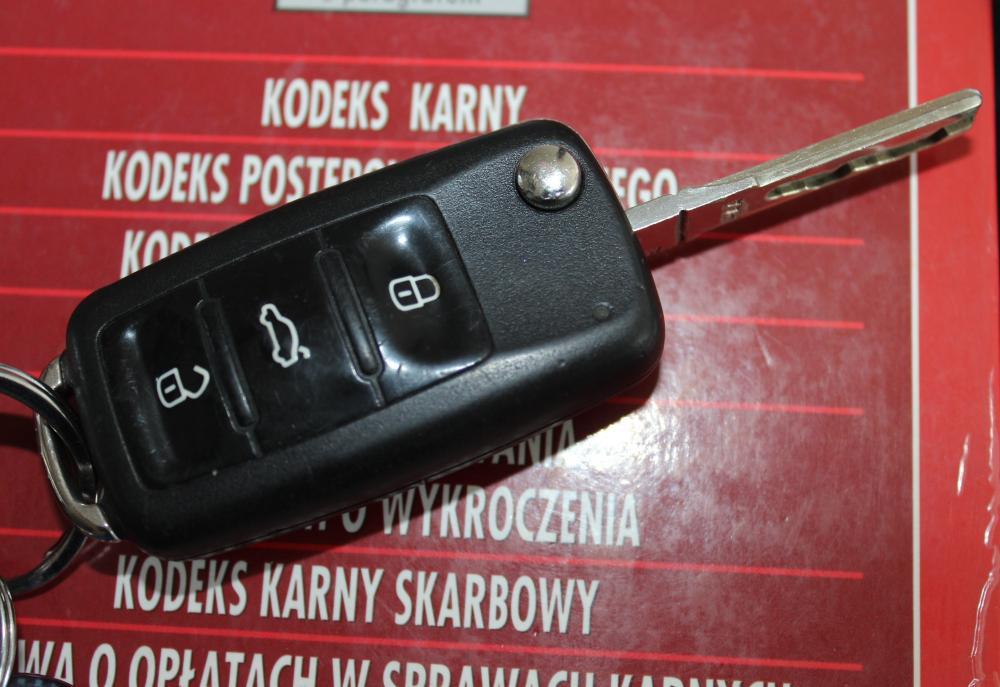 Podczas kontroli drogowej okazało się, że auto jest kradzione