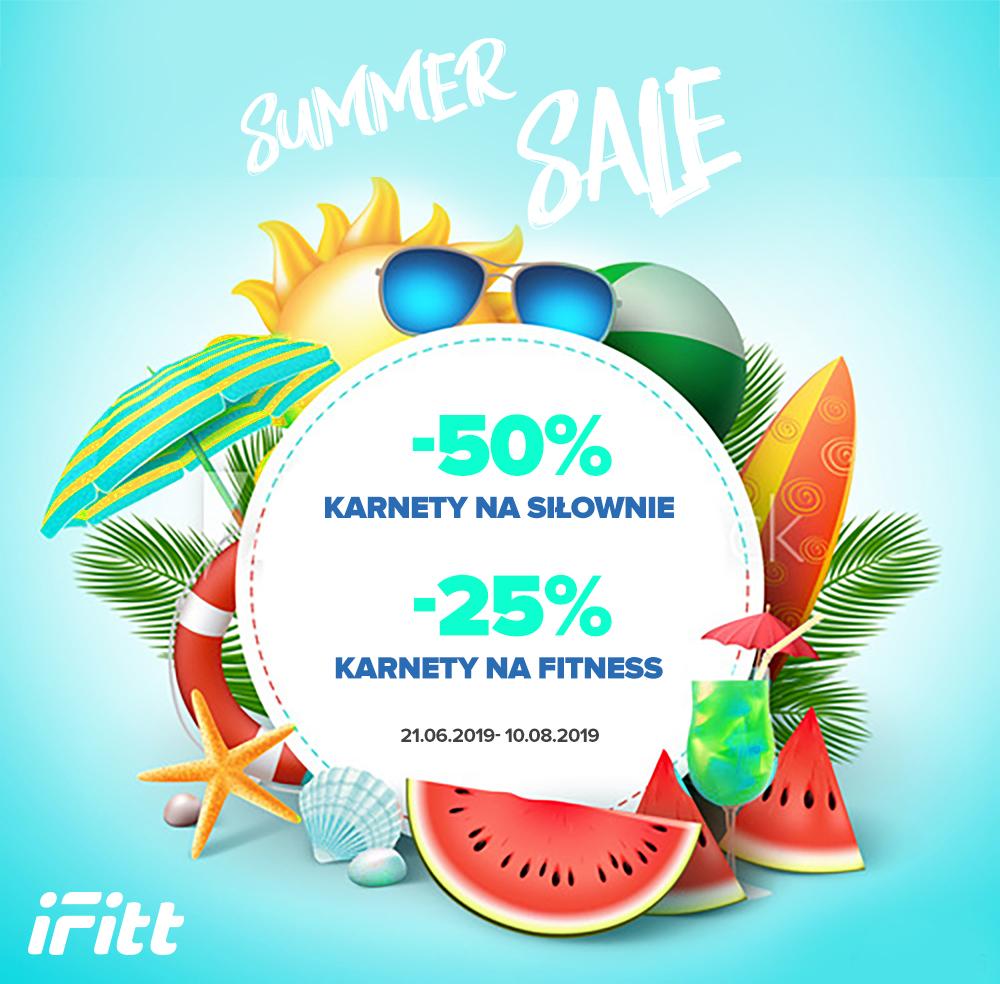 -50% na karnety dla wszystkich!! iFitt- Zacznij lato na sportowo!