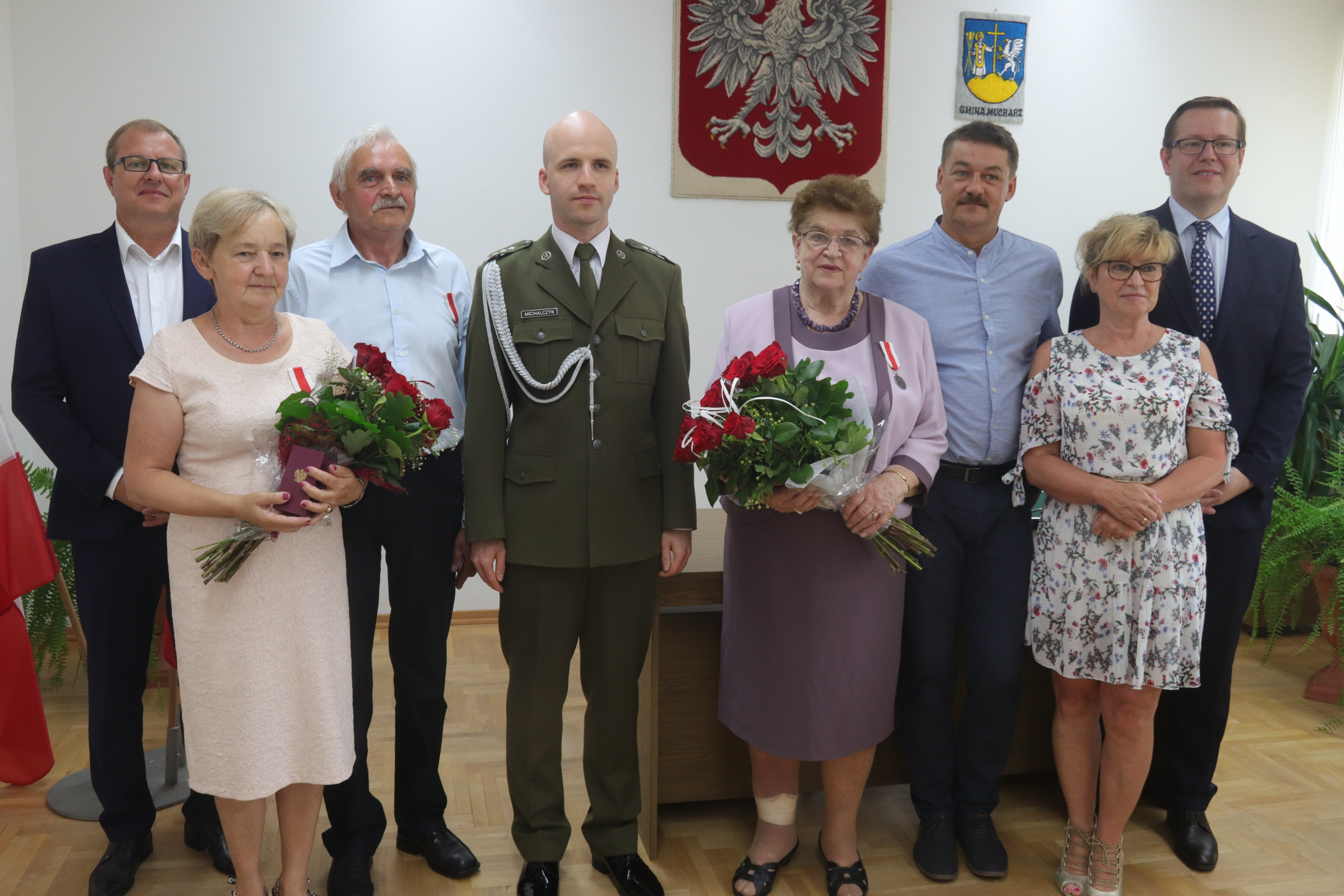 Medale dla rodziców, którzy wychowali wzorowych żołnierzy