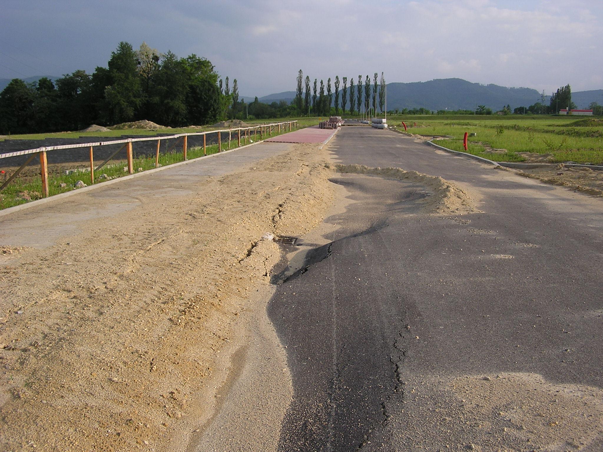 Olbrzymi problem na budowie strefy gospodarczej w Andrychowie