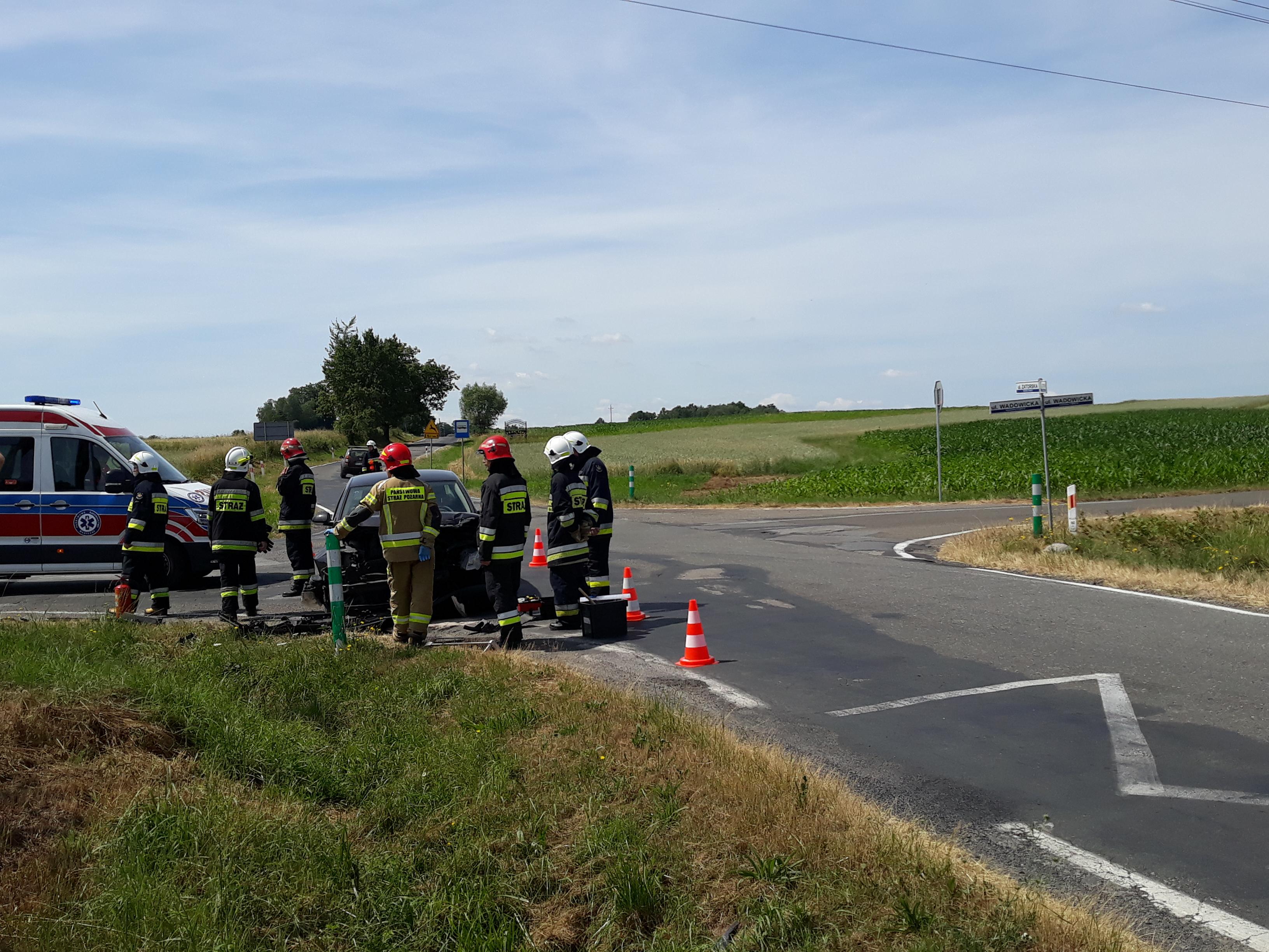 Kolejny wypadek na niebezpiecznym skrzyżowaniu
