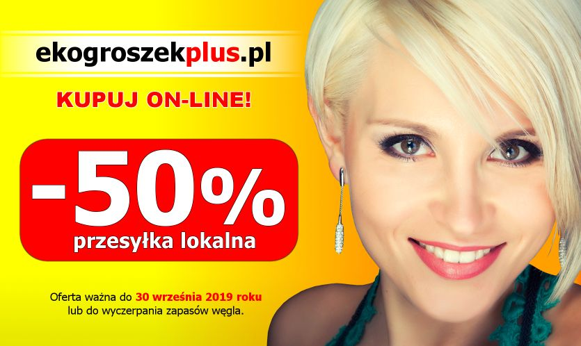 Za pół ceny!… Tania dostawa opału do Klientów e-sklepu ekogroszekplus.pl
