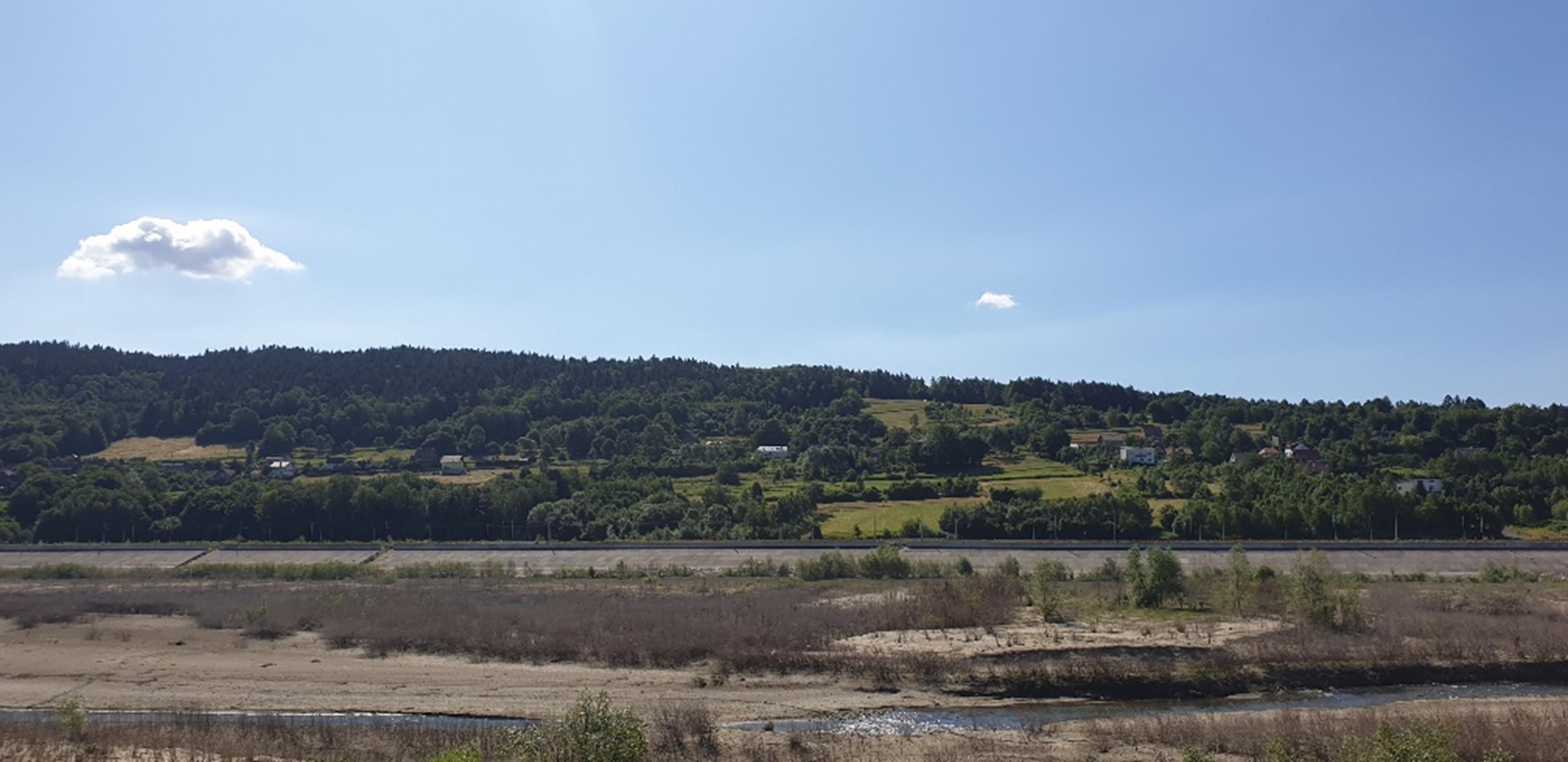 Znikające jezioro. Taki widok pozostanie przynajmniej do przyszłego roku