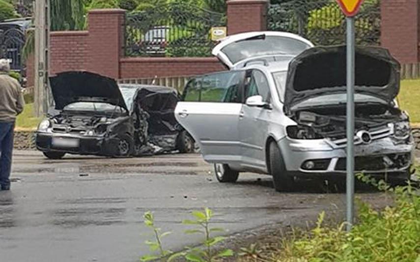 Kolejny wypadek, jedna osoba poszkodowana