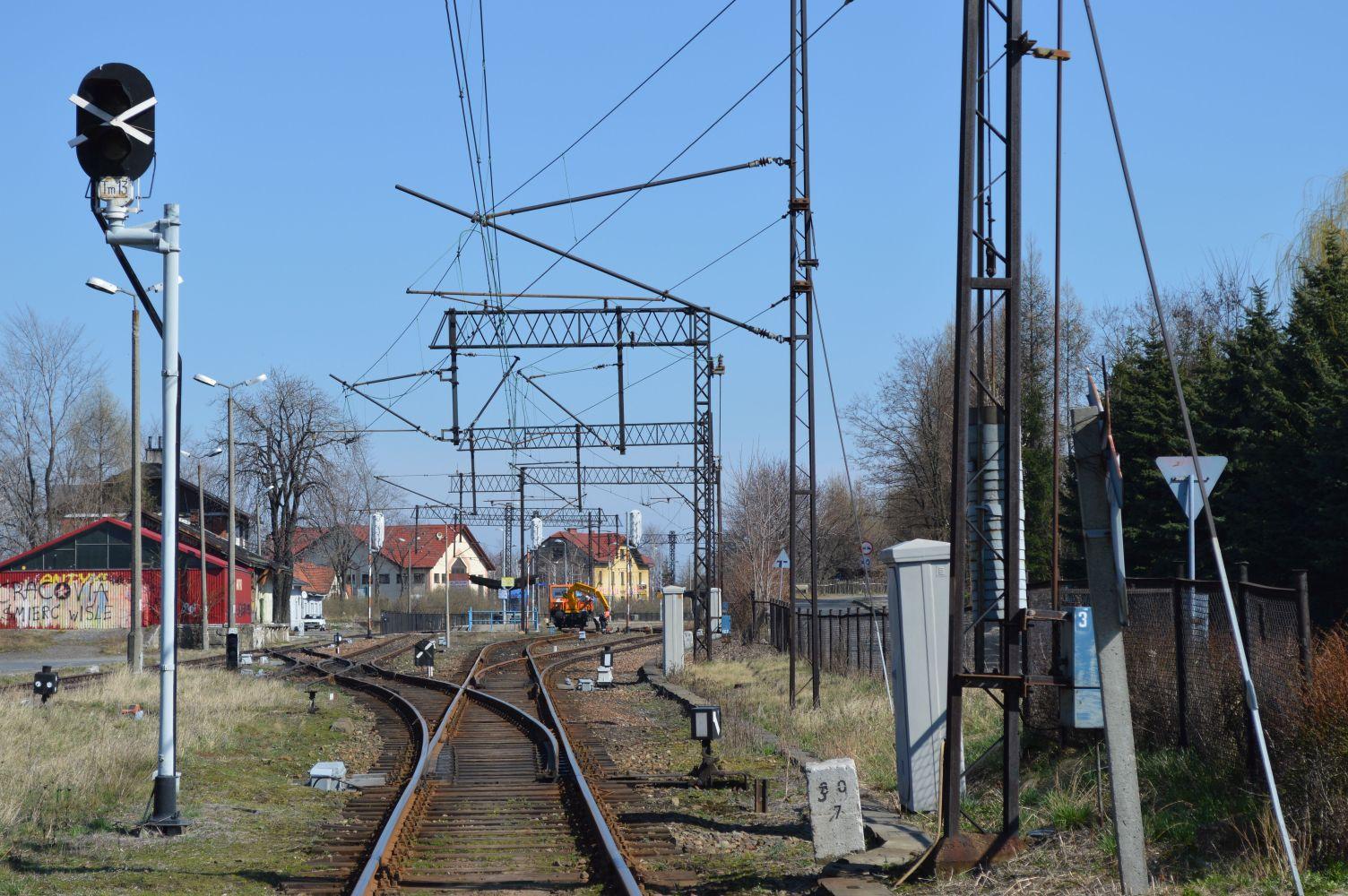 Pociągi pojadą szybciej tylko na odcinku Andrychów - Wadowice. O ile...