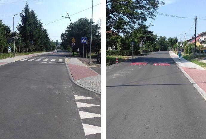 Kilometr nowego asfaltu. Droga po remoncie już przejezdna