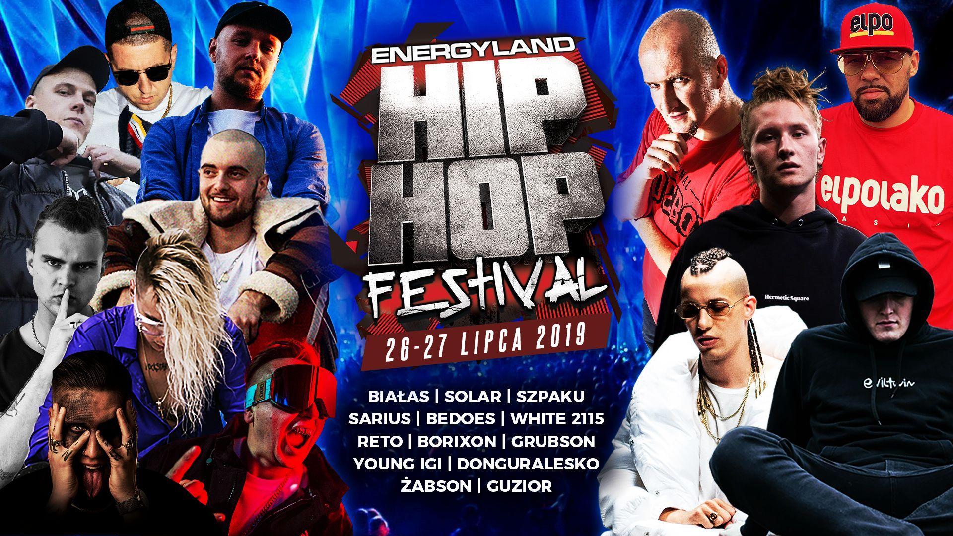 W piątek i w sobotę HIP-HOP Festiwal w Energylandii. KONKURS [AKTUALIZACJA]