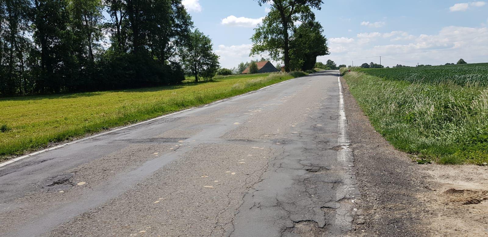 Droga Andrychów - Zator w końcu będzie remontowana