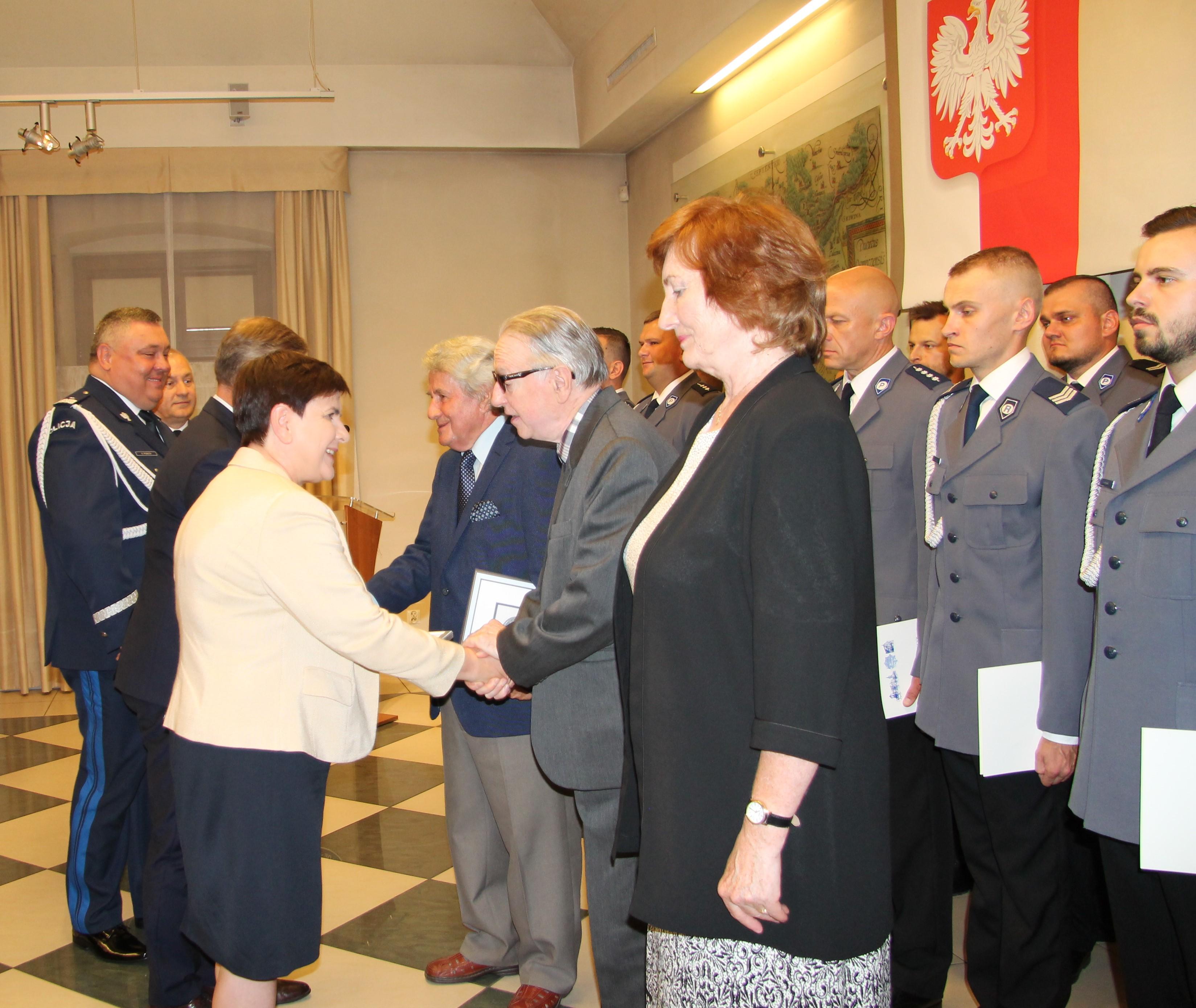Święto Policji z byłą premier Beatą Szydło