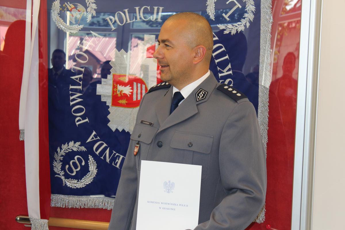 Nowy zastępca komendanta powiatowego, poprzedni został usunięty ze stanowiska