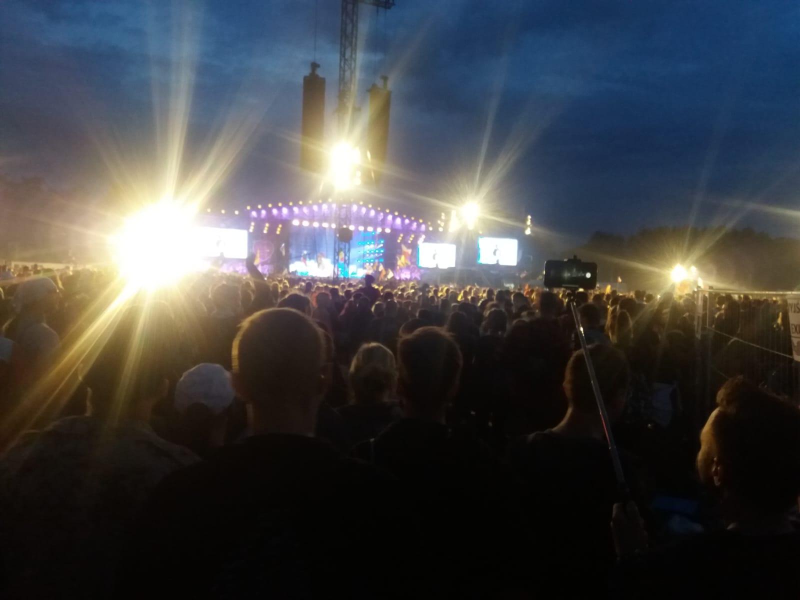 Andrychowianie na Pol'and'Rock w Kostrzynie nad Odrą