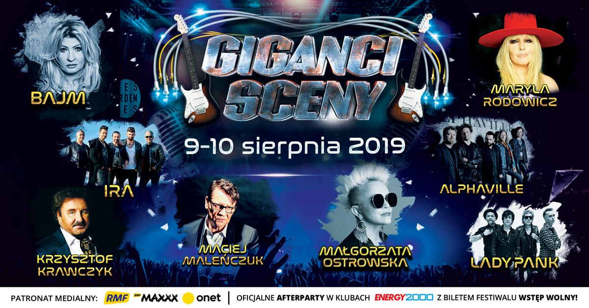 W piątek i sobotę festiwal GIGANCI SCENY w Energylandii. KONKURS [AKTUALIZACJA]
