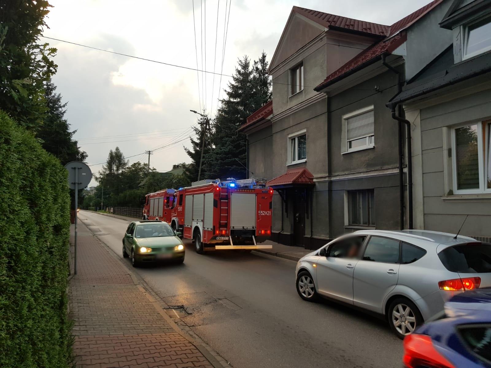 Wieczorne interwencje strażaków