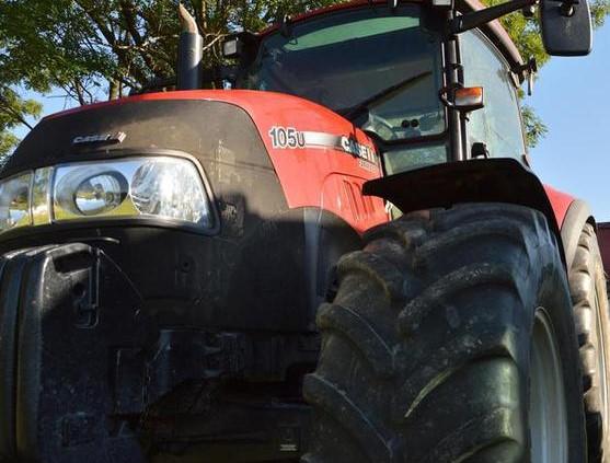 Na traktorze