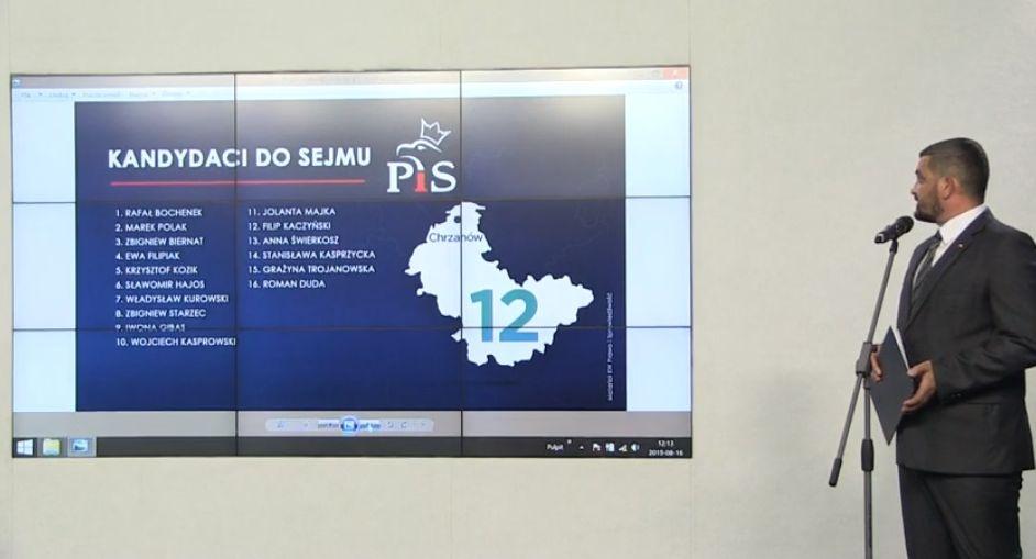 Oto kandydaci PiS-u w październikowych wyborach