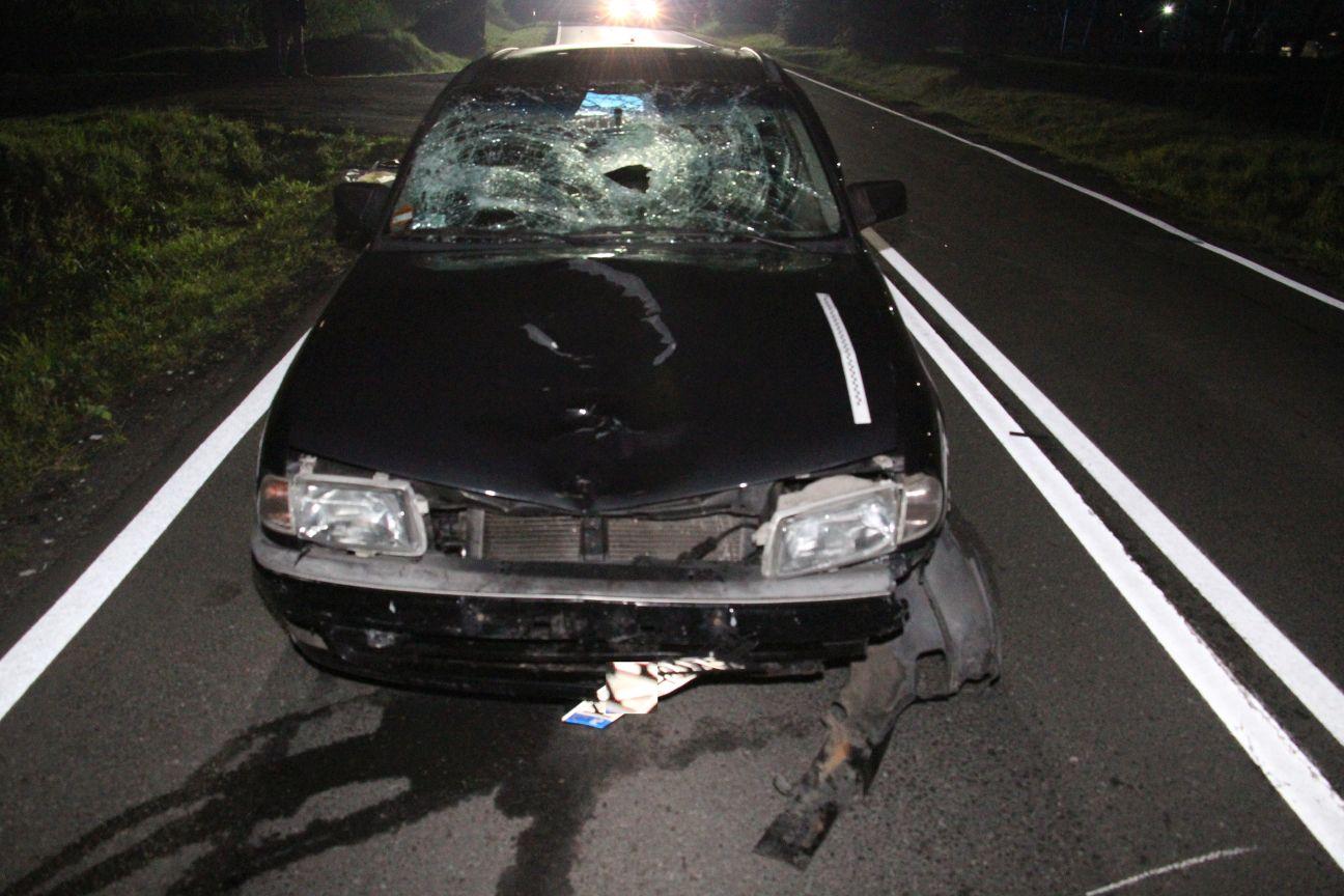 Tragedia na drodze. Piesza śmiertelnie potrącona przez samochód osobowy [AKTUALIZACJA]