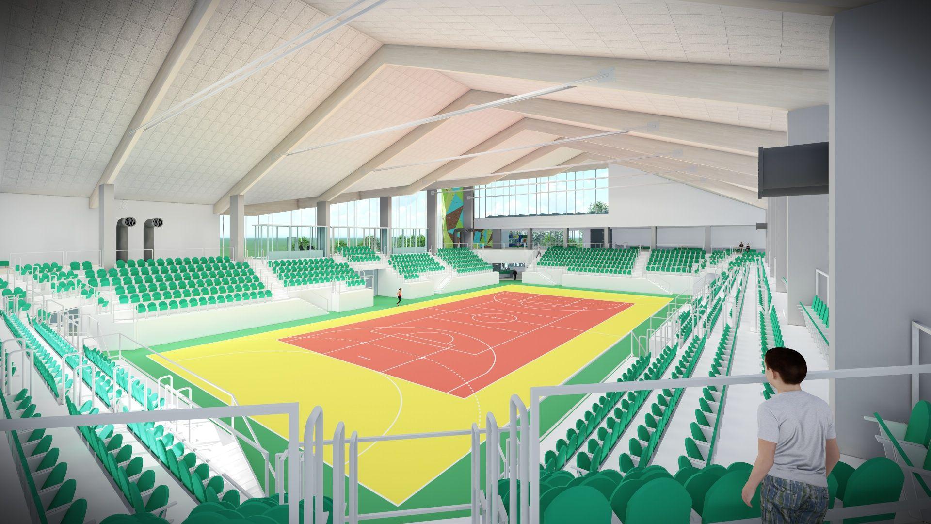 Magistrat ogłasza przetarg na dokumentację budowy hali sportowej