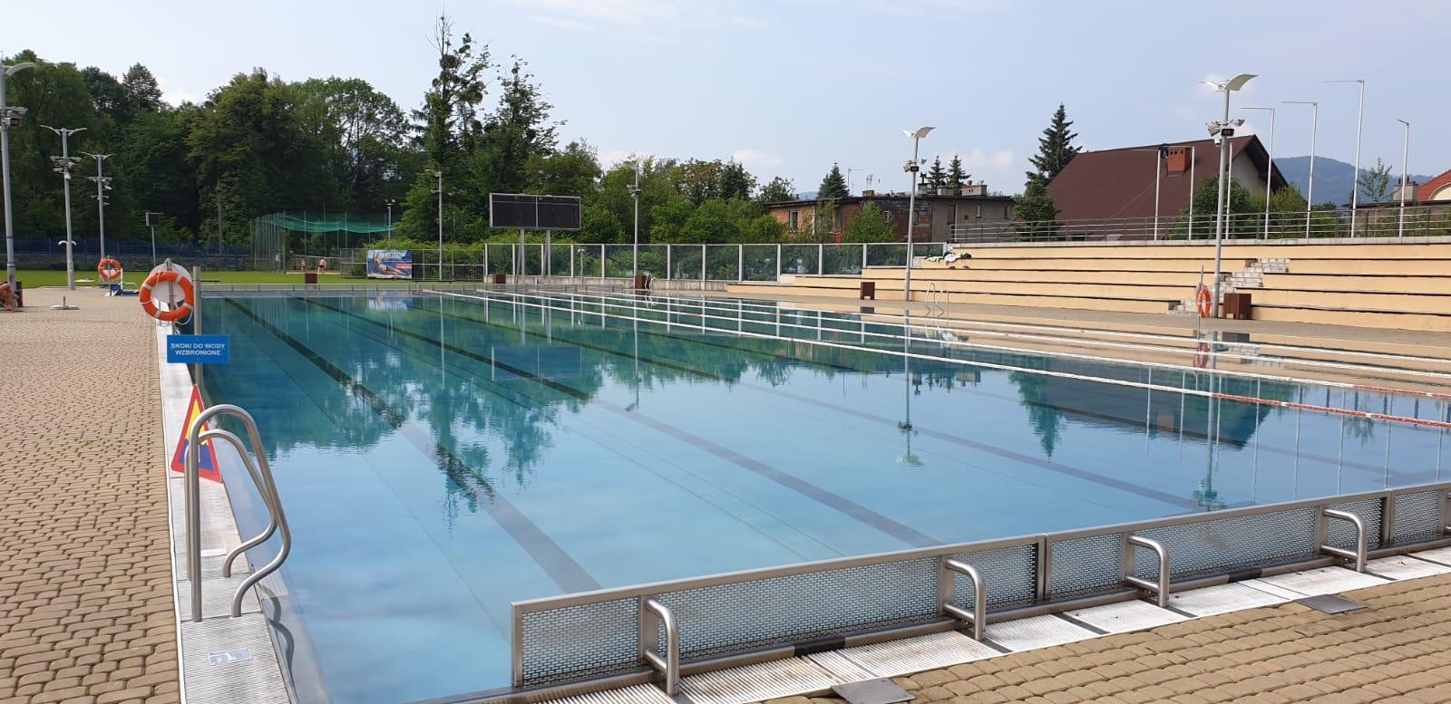 Ostatnie dni na basenie w Andrychowie
