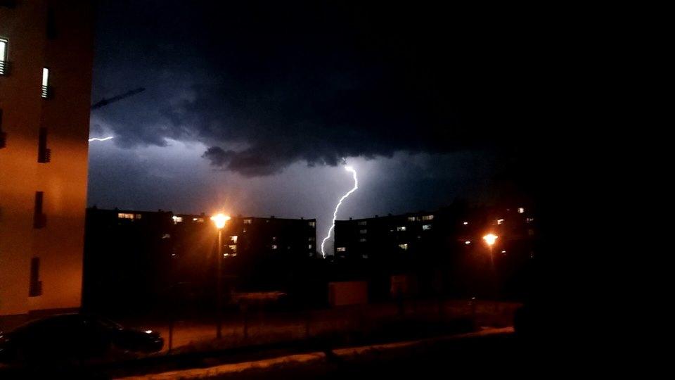 Burza w obiektywie naszych Czytelników [FOTO]