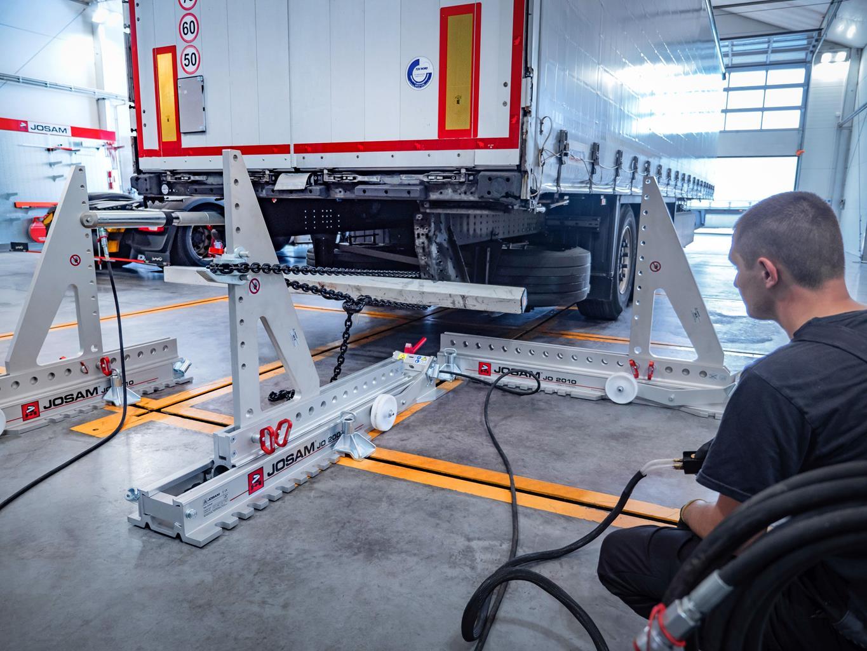 Prostowanie ram - nowa usługa w Autoserwisie SM LOGISTIC
