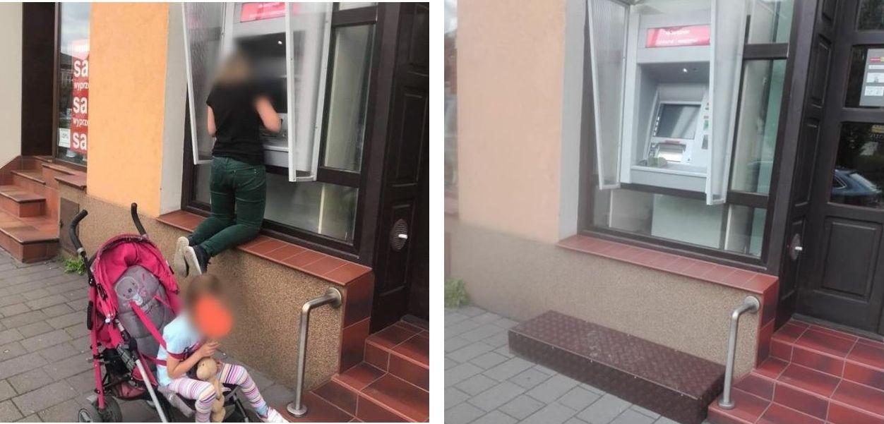Bank ułatwił dostęp do słynnego bankomatu w centrum Andrychowa