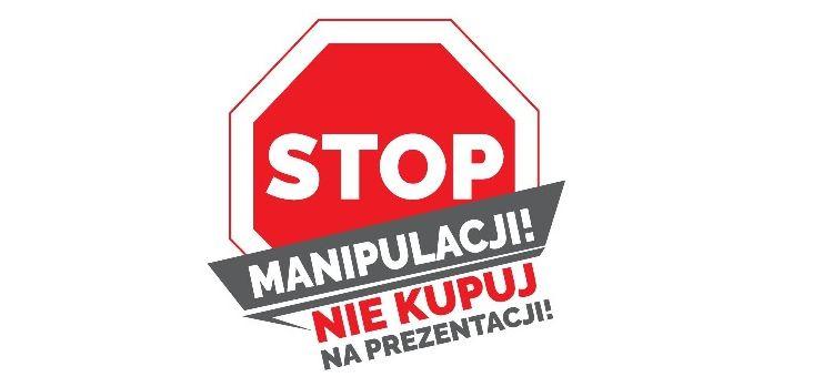 Bezpieczny Senior w Małopolsce - Stop Manipulacji, nie kupuj na prezentacji!