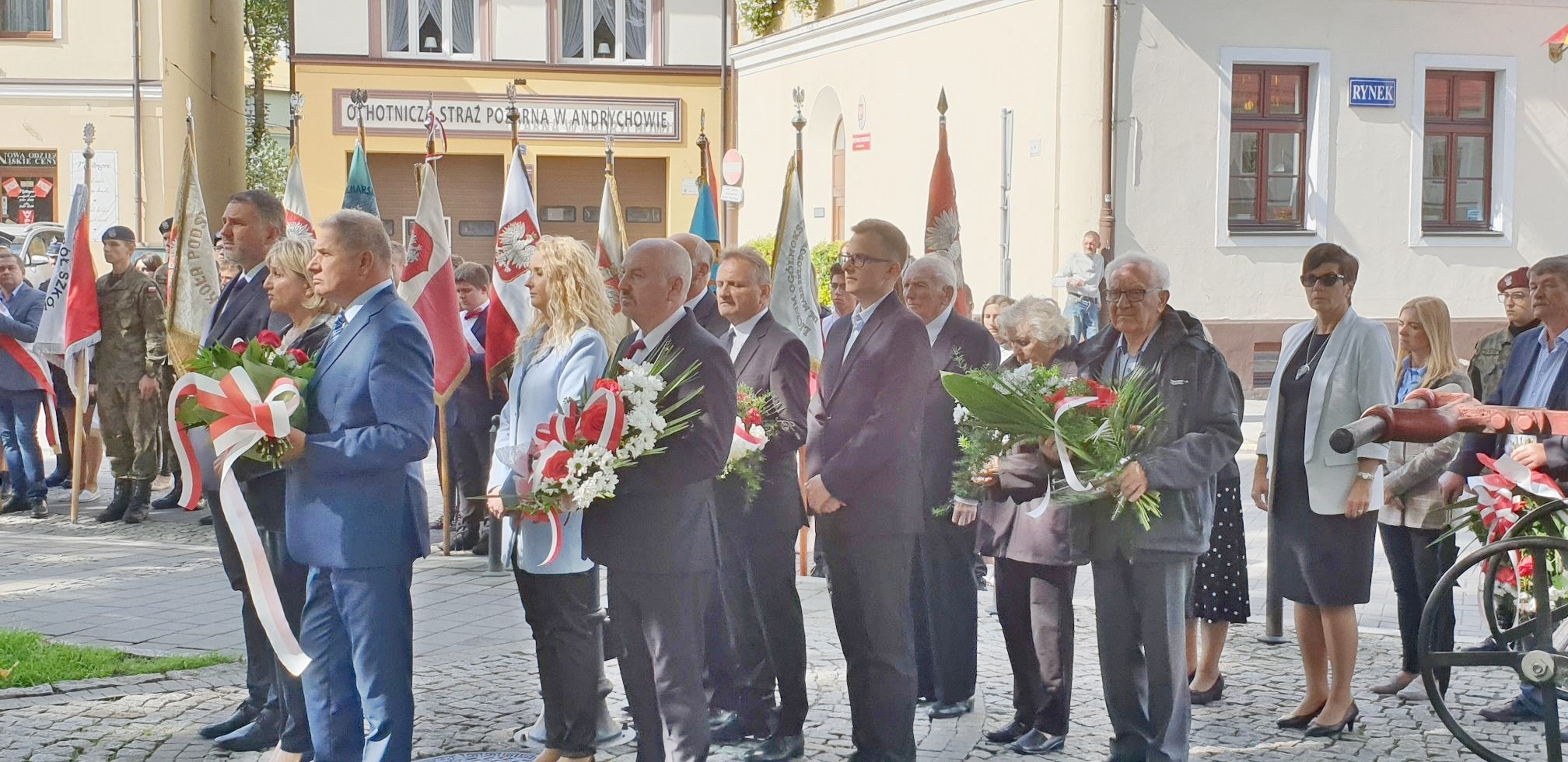 Andrychowskie obchody 80. rocznicy napaści wojsk sowieckich na Polskę [FOTO]