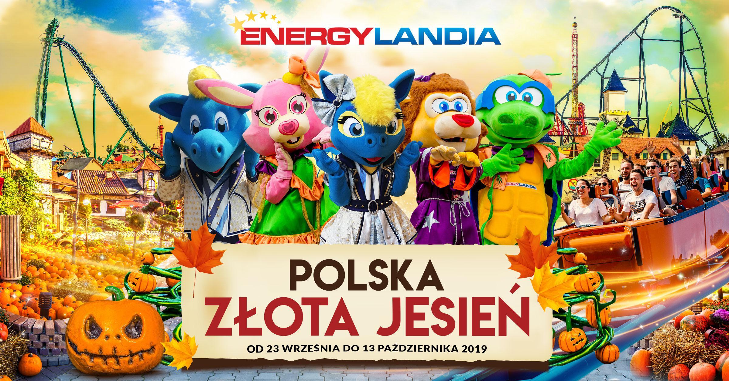 Złota Polska Jesień w otoczeniu Roller Coasterów!