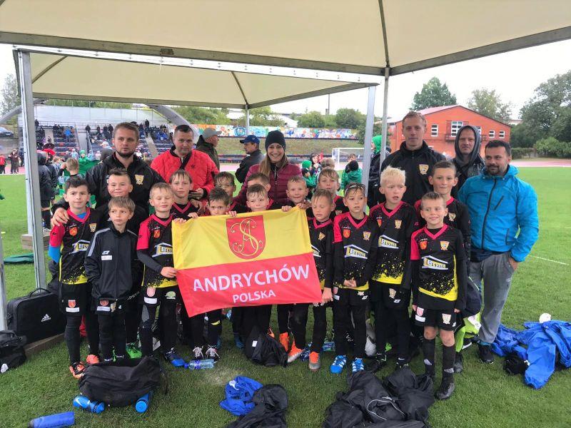 Piłkarze z Andrychowa z sukcesami na międzynarodowym turnieju