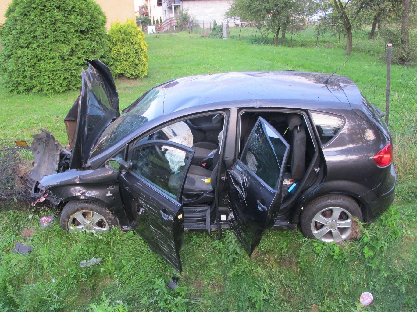 Wpadek na skrzyżowaniu, 11-latka poszkodowana