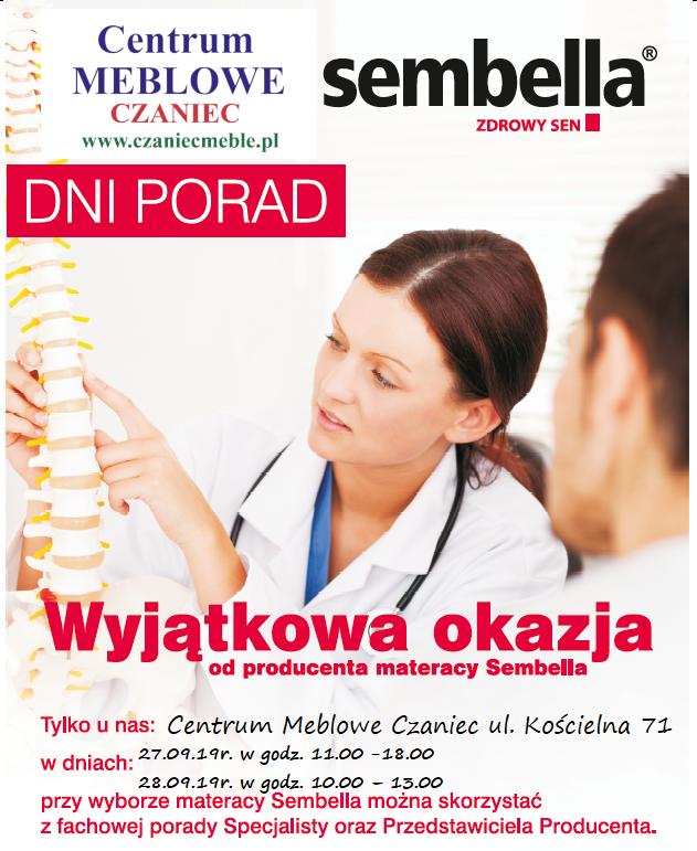 Materace ortopedyczne ze specjalistami Sembella Zdrowy Sen
