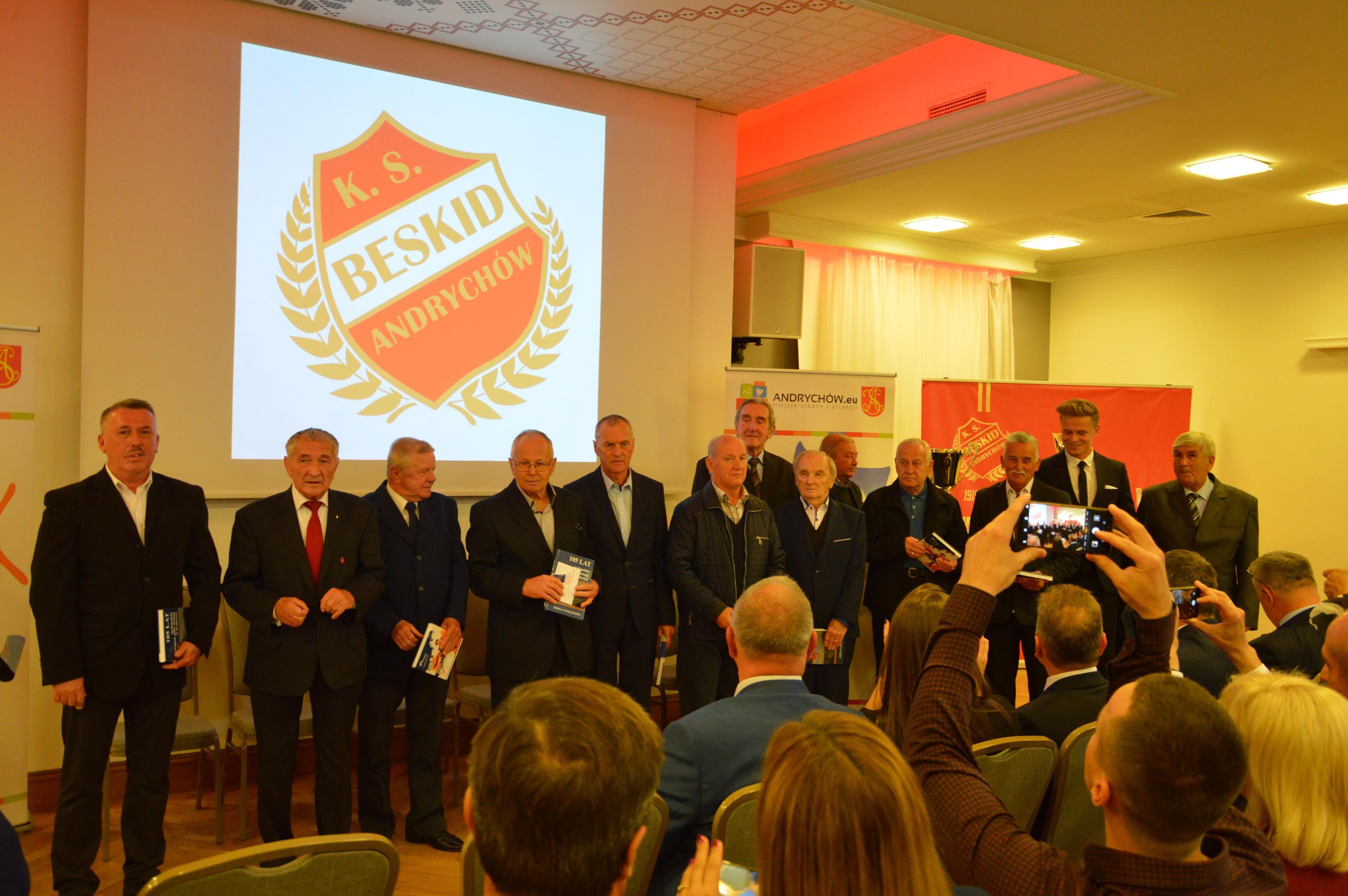 Gala na Kocierzu z okazji jubileuszu 100-lecia Beskidu Andrychów [FOTO, VIDEO]