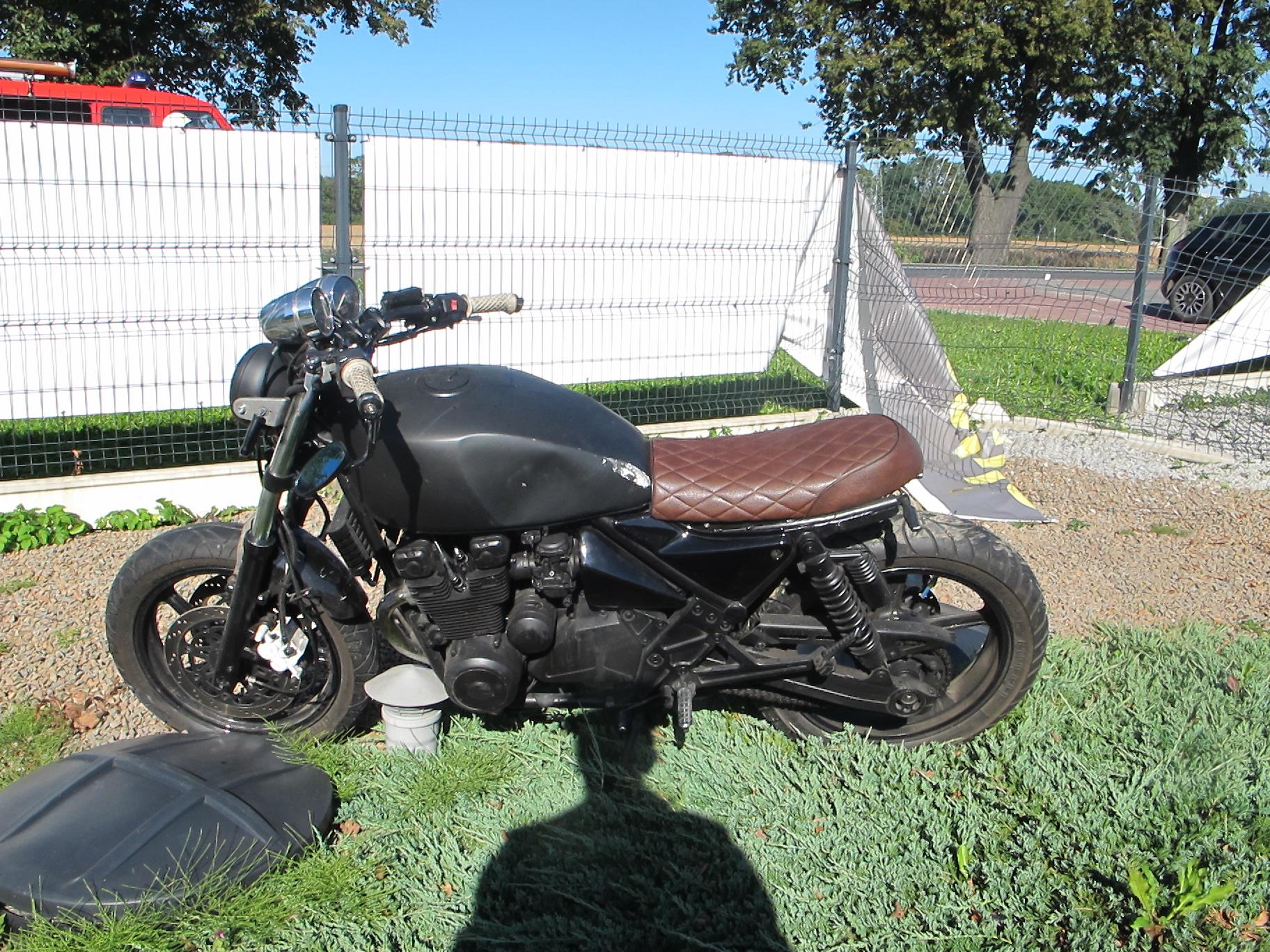 Kolizja z motocyklem podczas wyprzedzania